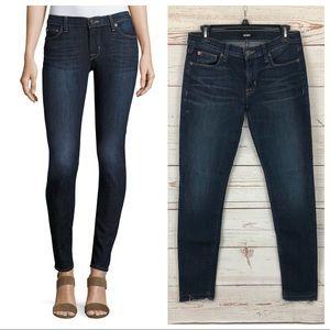 Hudson Krista Raw Released Hem Skinny Ankle Jeans